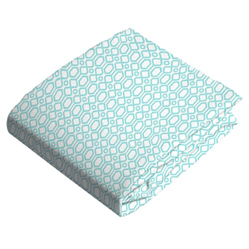 Kushies Change Flannel Octagon Turquoise product image