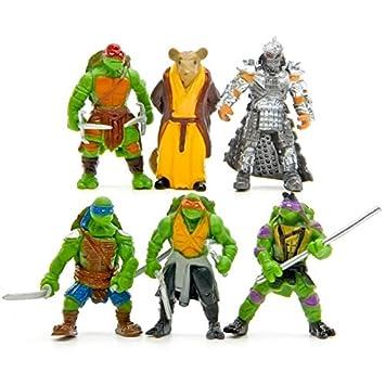 Amazon.com: VIETXD 6Pcs/Bag Lovely Mini Turtles Actions ...