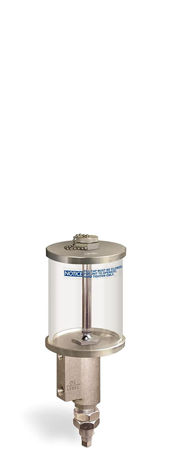 B543-4 Constant Level Lubricator 3//4-16 Threaded Shank for Remote Mounting 1 pt Acrylic Reservoir