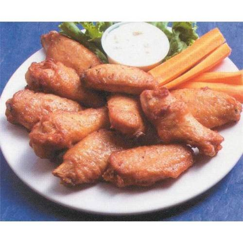 Extreme Wings Fully Cooked Naked Unbreaded Chicken Wingette, 12 Pound - 1 each.