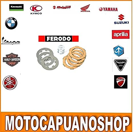 Kit Embrague Ferodo fcs0578me 4 discos Piu Muelle para Vespa 50 Pk Xl Rush: Amazon.es: Coche y moto