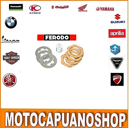 SET FRIZIONE FERODO FCS0578ME 7 DISCHI PIU MOLLA PER VESPA 50 SPECIAL