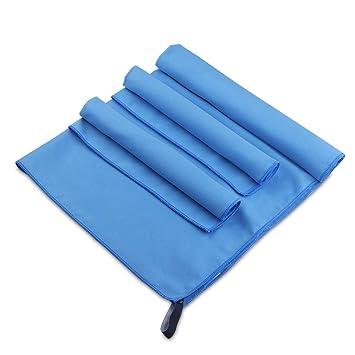Toalla de viaje Allwaii de microfibra, de secado rápido y ultra absorbente, 1 toalla de playa/natación ...