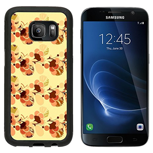 MSD Premium Samsung Galaxy S7 Aluminum Backplate Bumper Snap Case IMAGE ID: 3495641 Sixties psychedelic wallpaper background with swinging London style (60s Background)