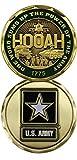 U.S. Army One Word HOOAH! Challenge Coin