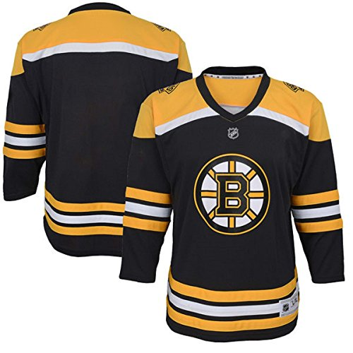 Outerstuff NHL NHL Boston Bruins Toddler Replica Jersey-Home, Black, Toddler One Size -