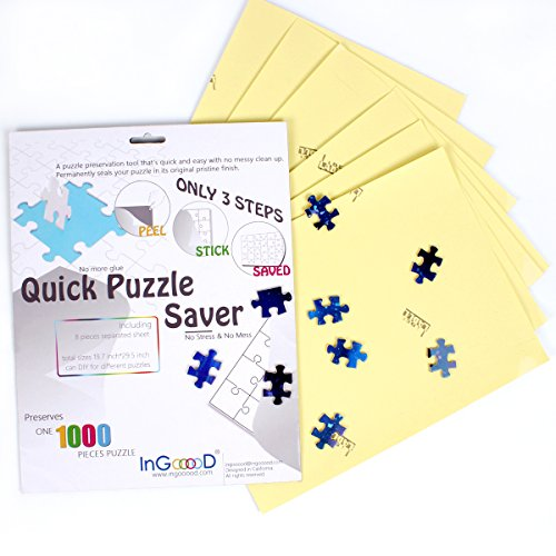 durable modeling Ingooood-Puzzle saver- Sheet Peel - Preserve and ...