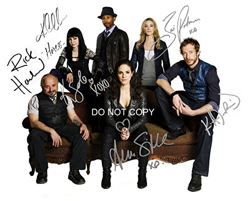 Lost Girl tv show reprint signed cast 8x10 photo Showcase Anna Silk + 5 from Loa_Autographs