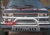 1998 chevrolet bull bar - APS BB-CAK005S Chrome Bull Bar Bolt Over for select Chevrolet Blazer Models