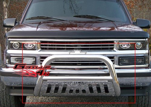 Bull Bar C1500 (APS BB-CAK005S Chrome Bull Bar Bolt Over for select Chevrolet Blazer Models)