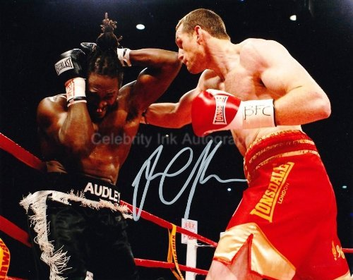 DAVID PRICE - Boxer Genuine Autograph