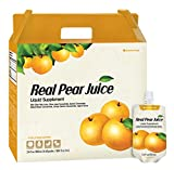 Chunho Food Real Pear Juice Liquid Supplement. Protects, Helps Against Coughing, Asthma, and Digestion. Relieve Thirst and Hangover. No Preservatives and Artificial Additives. …