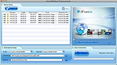iFunia DVD Ripper Pro for Mac V.2 [Download]