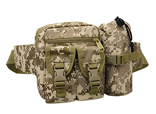 BuyHere Utility Tactical Hiking Waist Bag, Camouflage 2