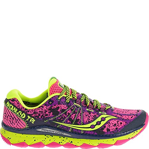 Saucony Women's Nomad TR Trail Running Shoe, Pink/Purple, 9 M US