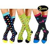 Compression Socks For Women Men 20-25mmHg-Best Medical, Nursing, Travel & Flight Socks (S/M, STYLE5)