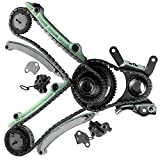 Timing Chain Kit ECCPP for 1999-2004 Dodge Dakota, Durango, Ram 1500 | Jeep Grand Cherokee 4.7 SOHC 285 V8 JTEC Design (IF-90393S)