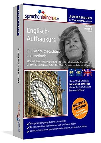 Sprachenlernen24.de Englisch Aufbau Sprachkurs  PC CD ROM Für Windows Linux Mac OS X + MP3 Audio CD Für MP3 Player. Englisch Lernen Für Fortgeschrittene