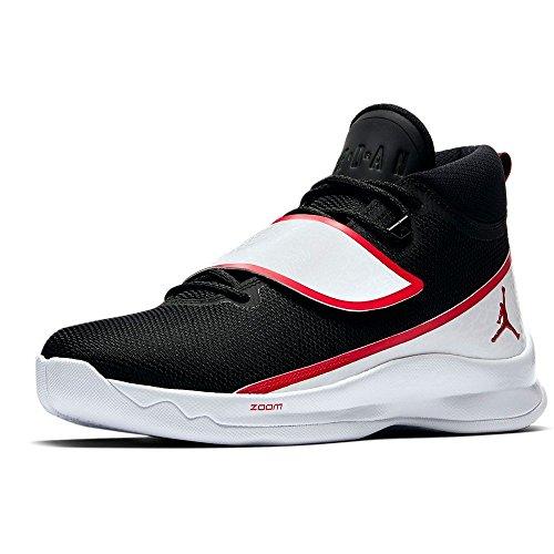 Super 001 Fly Schwarz Basketballschuhe PO 46 NIKE 881571 5 Jordan tHqO65w