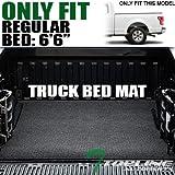 truck rubber bed liner - Topline Autopart Black Polyester Truck Bed Cargo Box Floor Mat Carpet 04-14 Ford F150 / Lincoln Mark LT 6.5 Ft 78