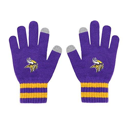 Minnesota Glove Vikings (NFL Minnesota Vikings Men's Sportsman Touch OTS Glove, Purple, Men's)