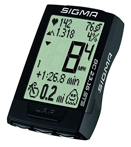 Sigma BC 23.16 STS Triple Wireless Bike Computer