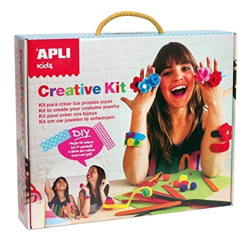 Apli Kids Create Your Own Costume Jewellery Kit (Multi-Colour) by Apli Kids - Create Your Own Costume Jewelry