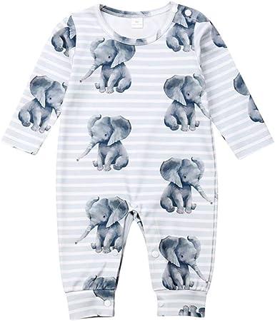 Bodies Bebe Niña Manga Larga Elefante Estampado Disfraz Ropa ...