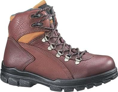 W03979 Wolverine Women's BRN EH Safety Boots - Brown - 10.0\M