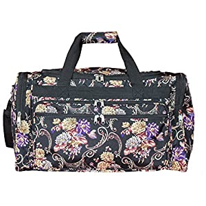 "World Traveler 22"" Duffle Duffel Bag, Classic Floral, One Size"