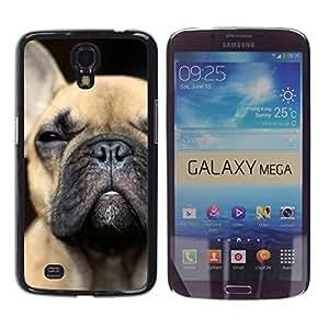 Estuche Cubierta Shell Smartphone estuche protector duro para el teléfono móvil Caso Samsung Galaxy Mega 6.3 I9200 SGH-i527 / CECELL Phone case / / French Bulldog Puppy Dog Boston Terr