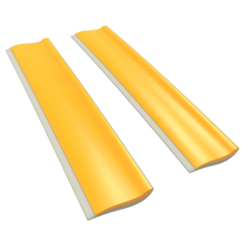 WSD Silicone Blade Water Squeegees for Shower,Kitchen ,Window and Car Glass ,2-pack