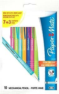 Paper Mate 2020 - Lápiz portaminas (10 unidades, varios colores)