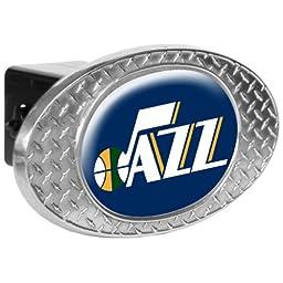 NBA Utah Jazz Metal Diamond Plate Trailer Hitch Cover