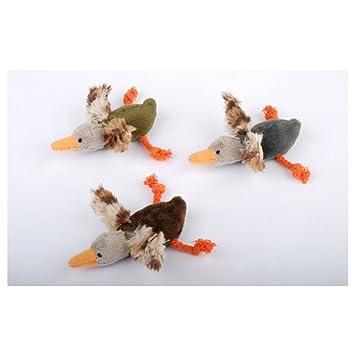 jouet chat canard