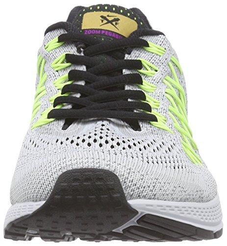 Nike Air Zoom Pegasus 32, Scarpe da Corsa Uomo Grigio (Grau (Pr Platinum/Vvd Prpl-vlt-blck 007))