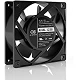 AC Infinity HS1238A 115V AC Cooling Fan. 120mm x 38mm High Speed