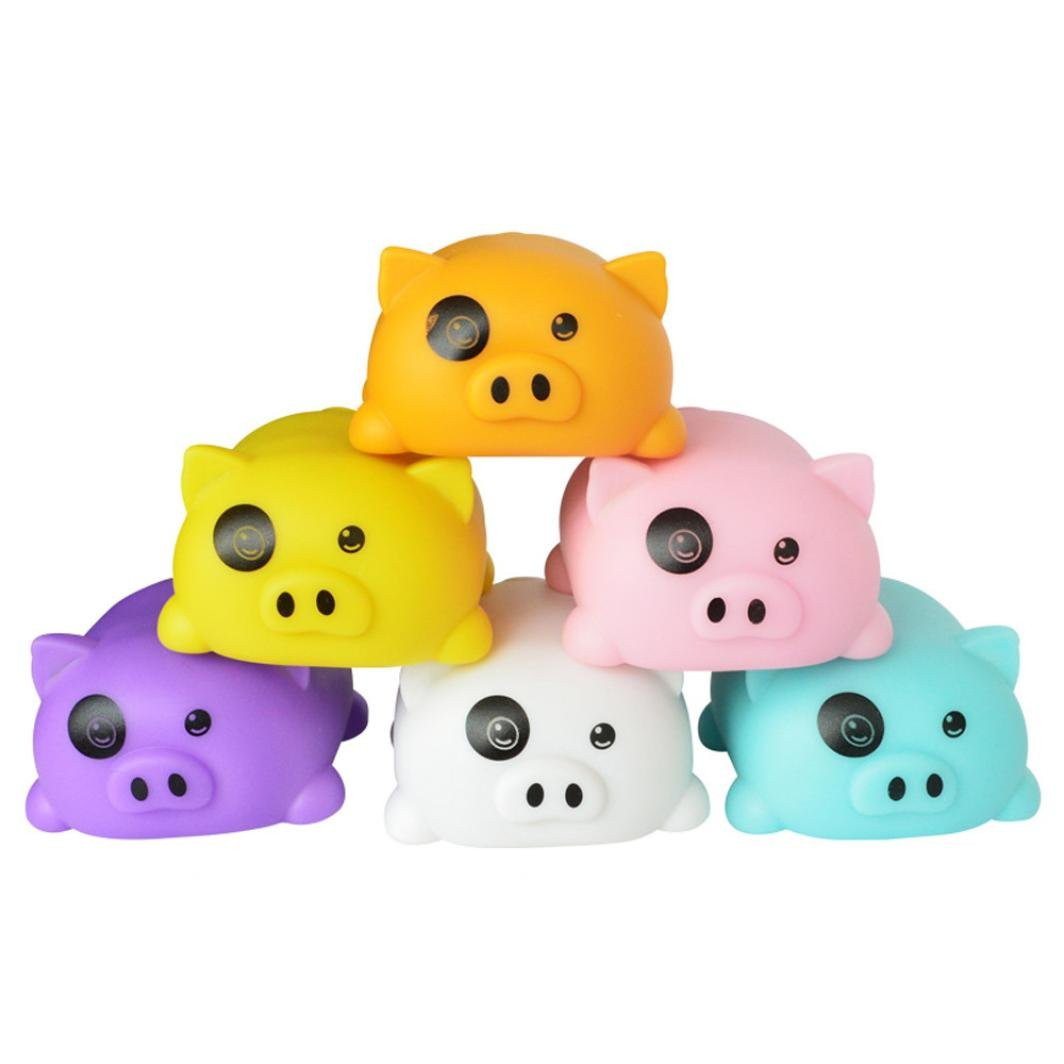 Winkey Toy for 3 4 5 6 7 8 9 + Years Old Kids Girls Boys, Scale Cute Lighting Effects Piggy Playing Music Smart Children Toys,Best Education Toy Gift