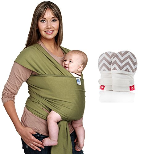 Corporate Baby Gifts for Employees or Customers: Moby Wrap Original 100 percent cotton baby carrier