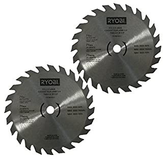 Ryobi circular saw blade do it yourselfore ryobi 680783014 circular saw blade 7 14in 24 teeth tipped carbide 2 pack keyboard keysfo Image collections
