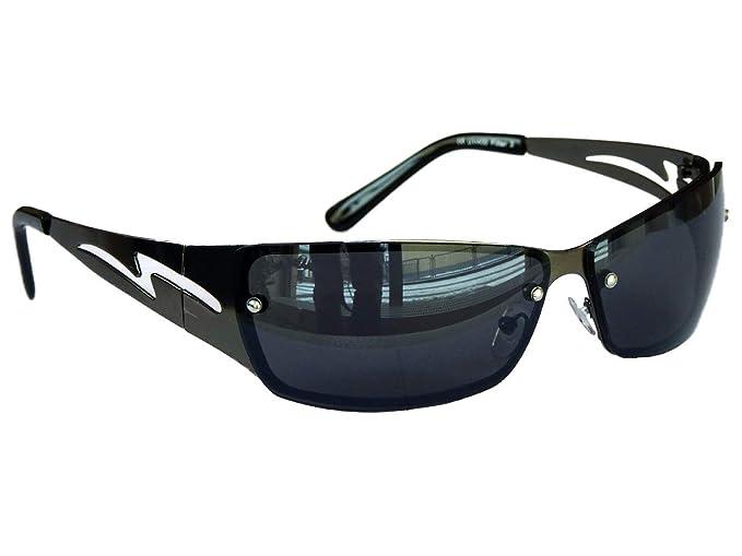 Viper - Gafas de sol - para hombre Negro Silber Chrom medium ...