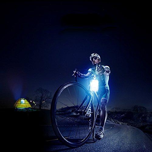Saienfeng Lanterne solaire gonflable lumières LED Lampes pliable ...