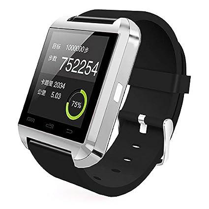 Amazon.com: [Prime] U8 Bluetooth V4.0 Bluetooth Wrist Smart ...