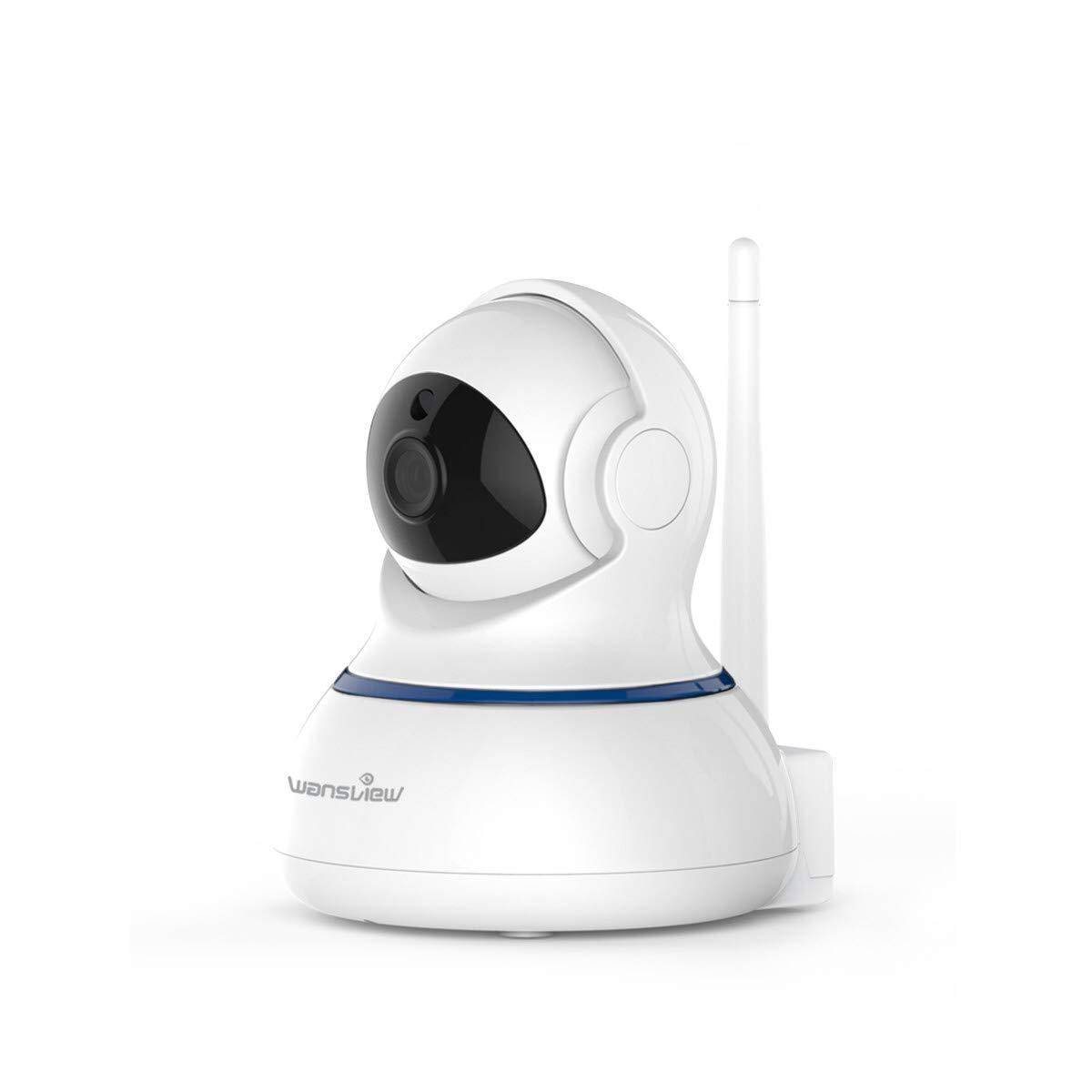 Wansview 1080P HD WLAN IP Kamera, WiFi Überwachungskamera als Home/Baby Monitor mit Schwenk und Neige, Zwei-Wege Audio, Nachtsicht Funktion, Micro SD Kartenslot und deutsche App/Anleitung Q3-S Weiß Shenzhen Smarteye Digital Electronics Co. Ltd