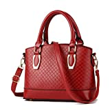 Swesy New Fashion Women PU Handbag Classic Hand Bag Shoulder Bag Cross-body Bag Top-Handle Bags