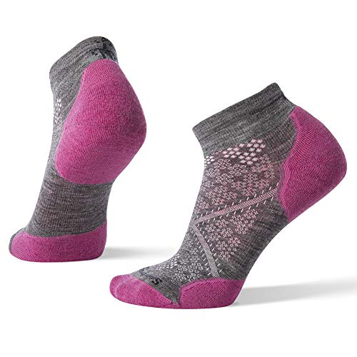 Smartwool Women's PhD¿ Run Light Elite Low Cut Meadow Mauve Medium by SmartWool (Image #1)
