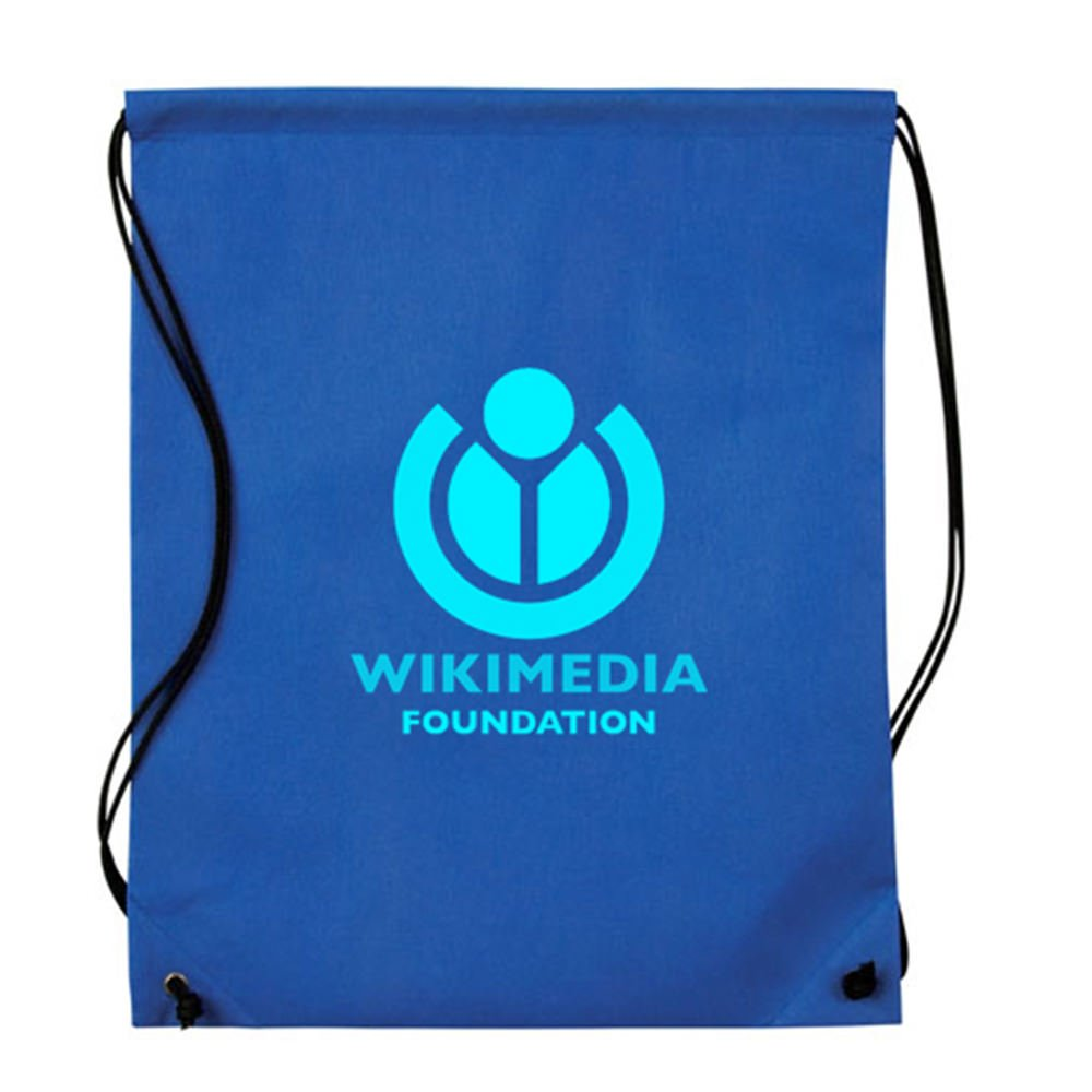 Nonwoven Drawstring Back Pack - 150 QTY - Promotional Product - Imprinted with Your Company Name, Logo or Message