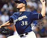 Signed Jennings Photograph - 8x10 W coa - Autographed MLB Photos