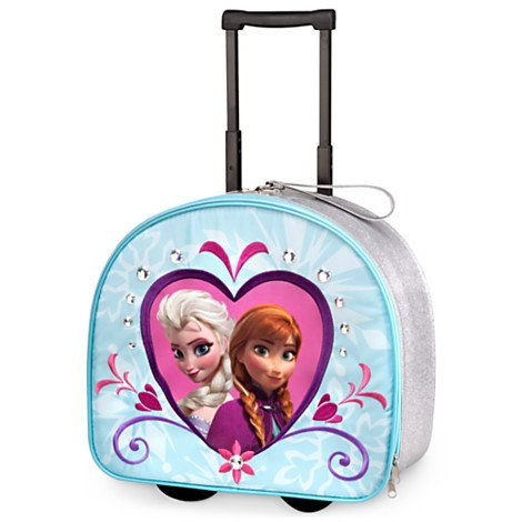 Disney Store Frozen Elsa/Anna Rolling Luggage by Disney Frozen