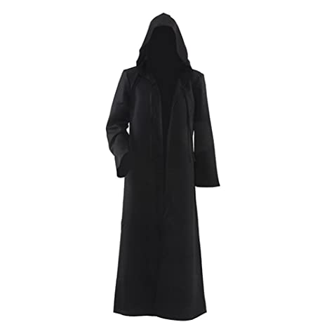 Labellevie Hombres Capucha Robe Capa Caballero Fancy Cosplay ...